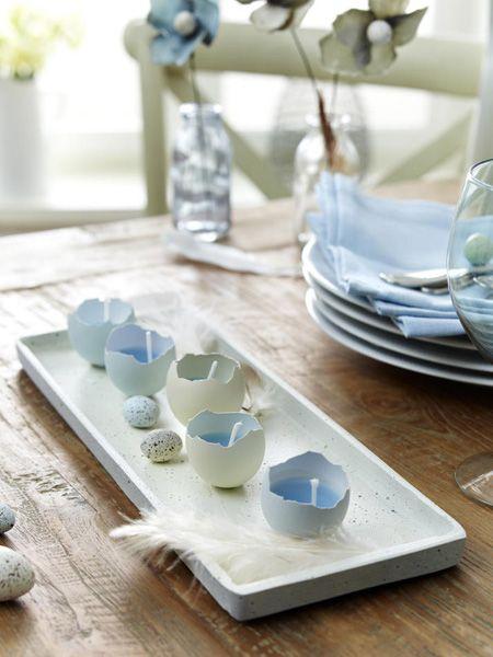 Verwandeln Sie Eierschale in hübsche Kerzenhalter - und zwar SO ...