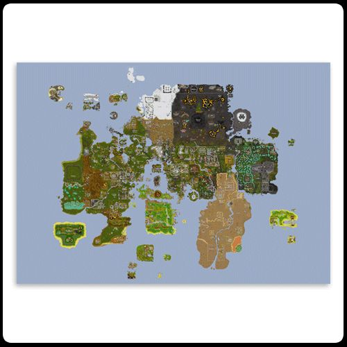 9 best Runescape images on Pinterest Video games, Videogames and Nerdy - new osrs world map in game