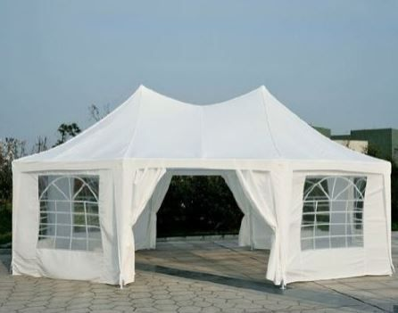 Octogonal outdoor party tent canopy
