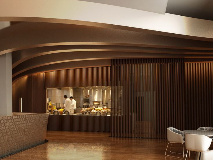 Renovation of Byzantino Restaurant in Hilton Athens