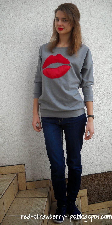 Red Strawberry Lips: Mam czerwone usta