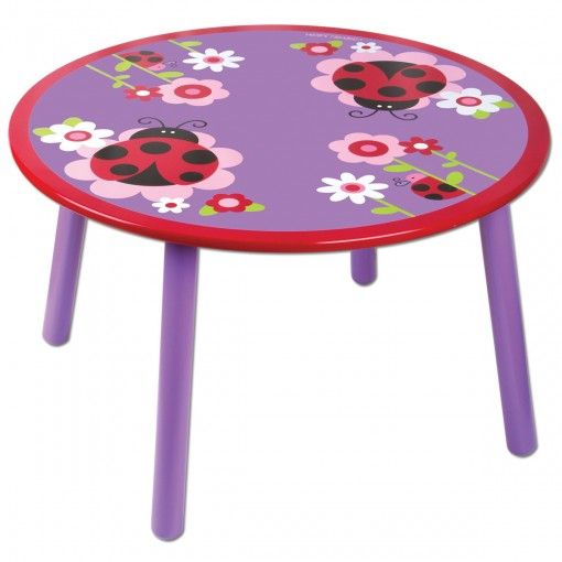 Ladybug Critter Table Possum Pie Stephen Joseph Arts and Crafts, Gifts and Toys