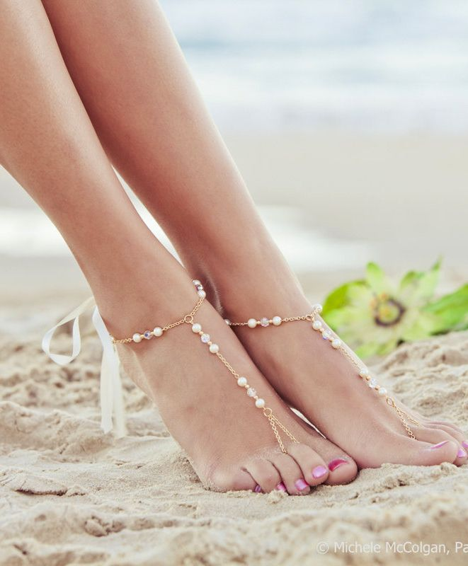 Pretty and delicate anklet