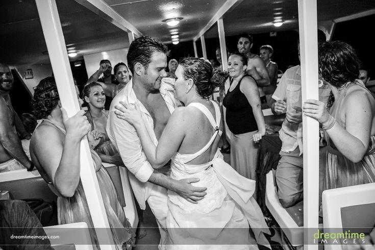 A sweaty dance party on the boat home from a Isla de la Pasión wedding. More at http://dreamtimeimages.com/blog/passion-island-wedding-photography-isla-del-passion-mexico-kelly-jason/