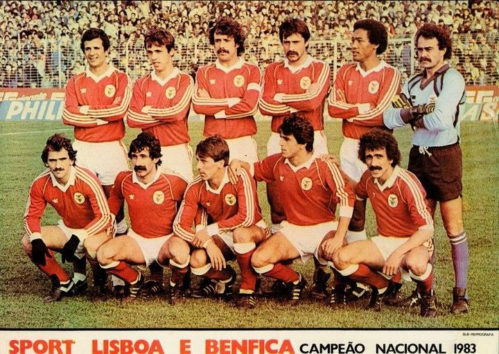1983 BENTO; CARLOS PEREIRA; HUMBERTO COELHO; BASTOS LOPES; PIETRA CARLOS MANUEL; SHÉU; JOÃO ALVES; CHALANA DIAMANTINO; NÉNÉ