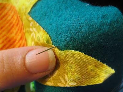 how to needle turn hand applique