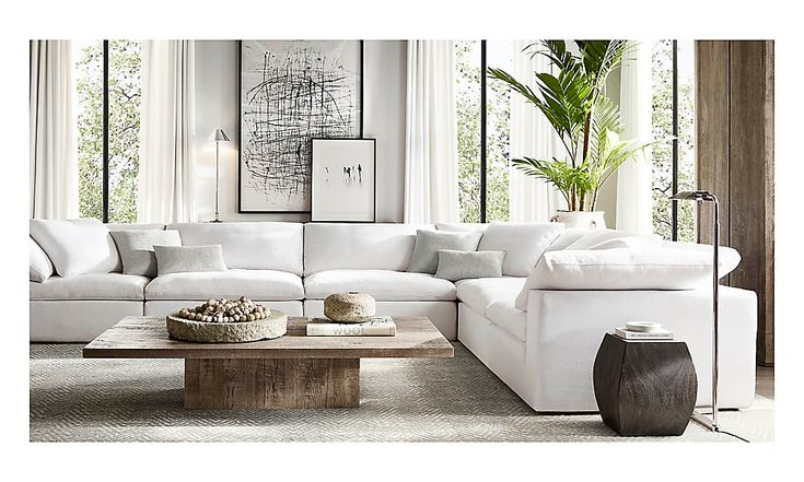 rooms  rh modern with images  home living room