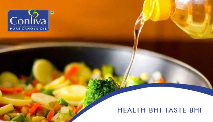 One cooking fat that is heavily marketed as a #healthy choice is #canola oil. It is low in saturated fat and high in #unsaturated #fats, including #Omega-3 #fatty #acids.  Be #Fit & Keep Your Family Fit Too