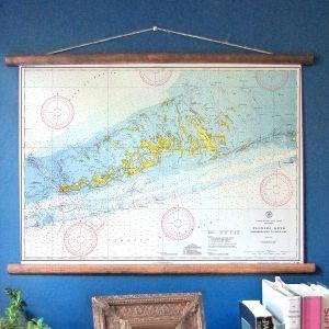 FL: Key West, FL (1940) Vintage Nautical Wall Chart - $89
