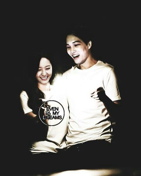 Kai and krystal. Well, i hope next, we won't need an edit just like this. Cr: even_inmydreams follow her on ig @even_inmydreams she is a great kaistal artist