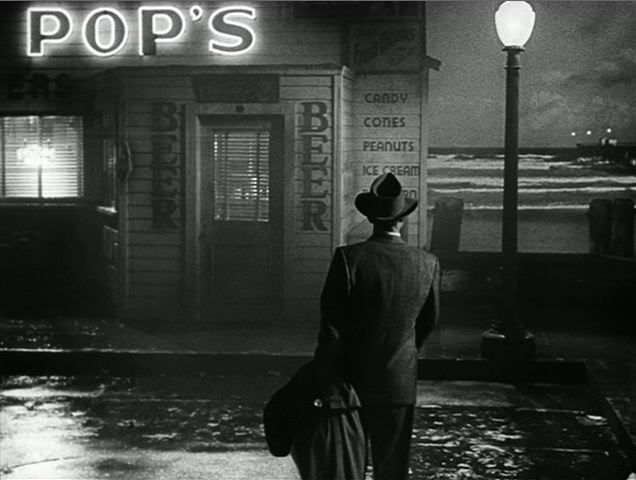 Pop's Eats, Walton. Fallen Angel (1945, dir. Otto Preminger). Art Direction Leland Fuller  Lyle Wheeler. Set Decoration Thomas Little.