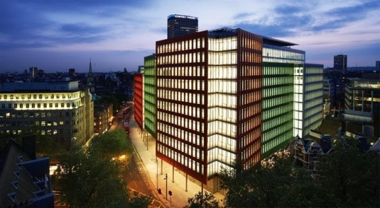 Central Saint Giles by Renzo Piano