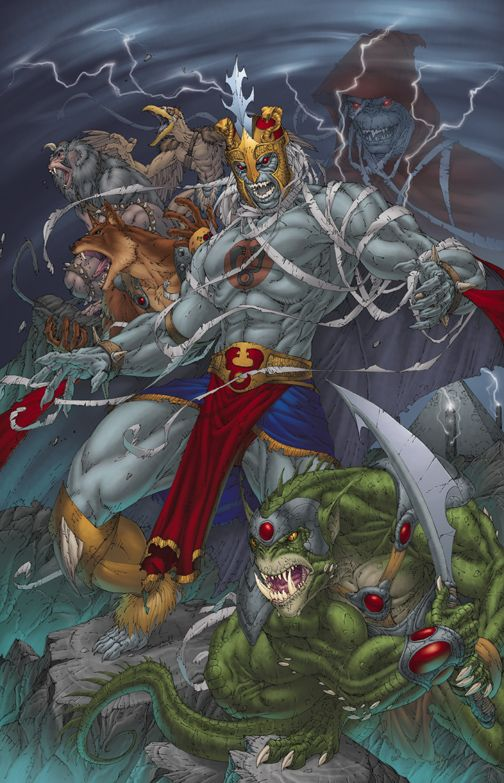 Brett Booth: Mumm-Ra the Ever Living