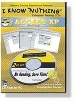 Microsoft Access XP Twin CD Video Tutorials - 2 x Video CD Set  Whether an advanced or first time database user, Access XP delivers powerful tools for managing and analyzing data. Learn efficient database design, how to create effective tables and the secrets of querying.