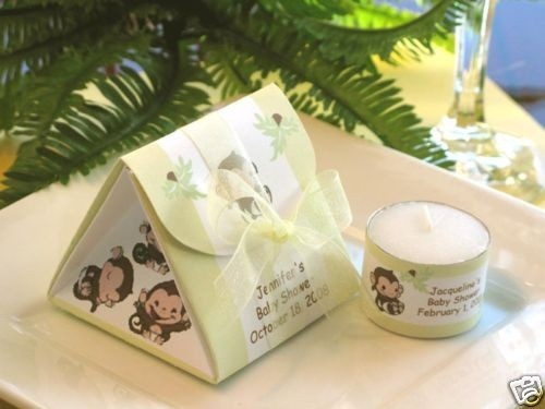 Monkey jungle safari baby shower origami favor by shadow090109 origami crafts - Monkey baby shower favors ideas ...