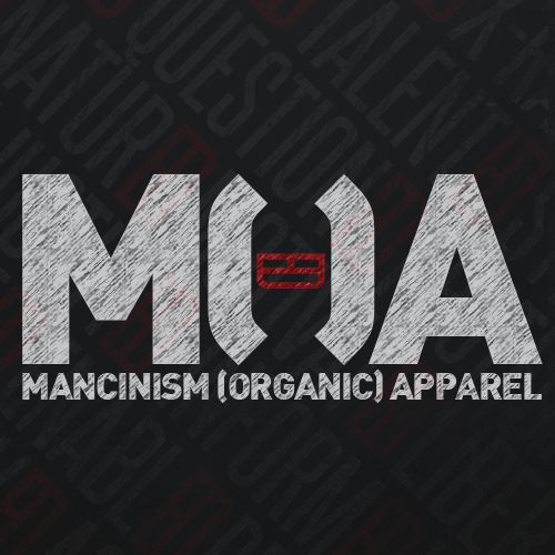 "The new and improved M(O)A logo, the ""O"" is made up of brackets ""( )"", as organic is now an option, as we give you the new option of regular garments too - still keeping our Equality & Diversity trademark icon in the centre!"
