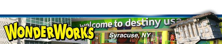 WonderWorks Destiny USA | Syracuse, NY