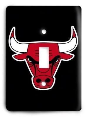 Chicago Bulls NBA 016v Light Switch Cover Light switch