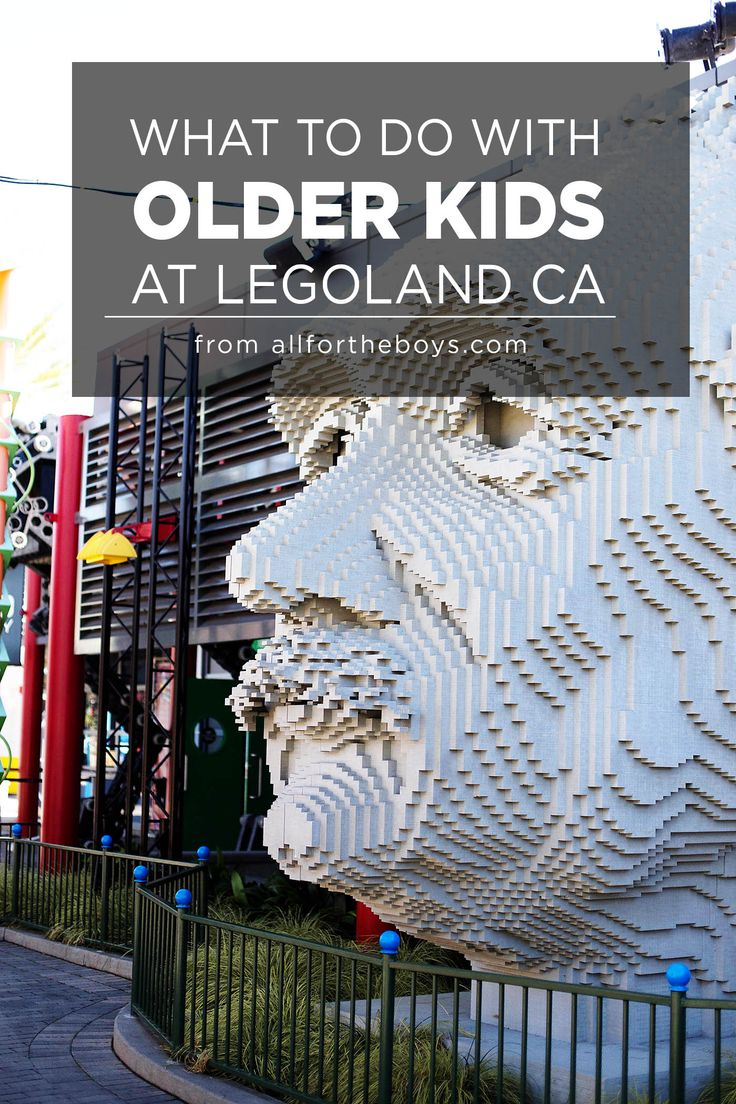 What to do with older kids (tweens and teens too) at LEGOLAND California