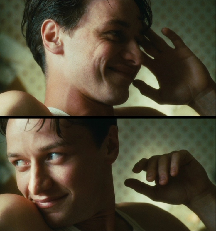 Ahh, James McAvoy as Robbie Turner (Atonement, 2007)