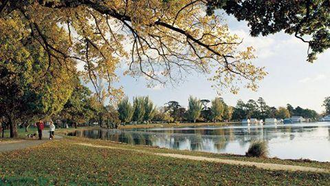 Lake Wendouree, Ballarat.