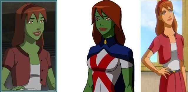 Season 1: Miss Martian/M'gann M'orzz/Megan Morse | Miss ...