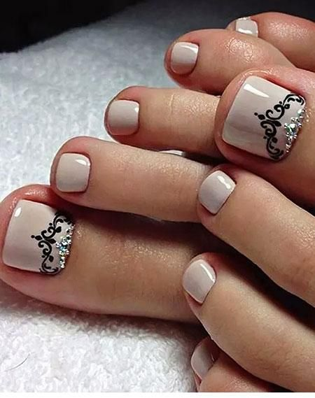 15 Classy Toe Nail Designs to Have Time to Make in Summer! - 15 Classy Toe Nail Designs To Have Time To Make In Summer