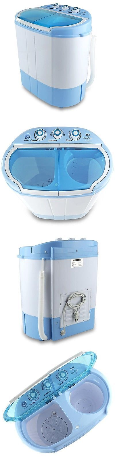 portable washing and drying machine