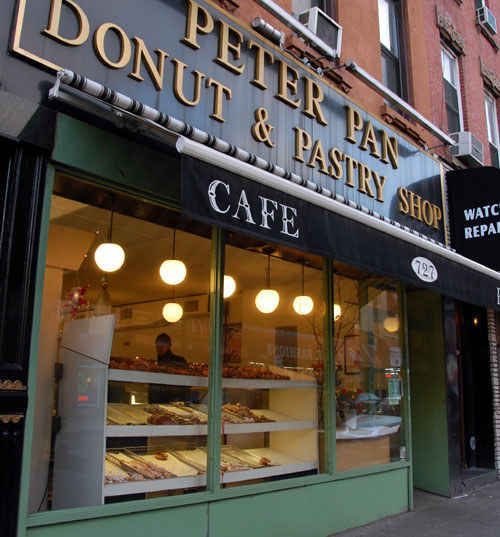 One day I will be able to spend a month or so in New York and I will visit every single place on this list.  44 Amazing NYC Places That Actually Still Exist. Peter Pan Donuts & Pastry Shop, 727 Manhattan Ave. (Greenpoint)