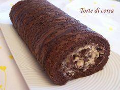 Rotolo al cacao con crema di mascarpone e caffè. Ricetta casalinga di Paola Bartolini per Matilde Vicenzi.