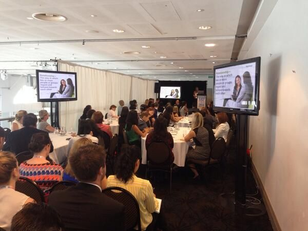 HayGroup's AU Wendy Montague: reinvent the HR and Line Mgt relationship at #HRsummit_au source: @mattschaplin  To see more schedule of HR events, visit the http://www.hcamag.com/hr-events/