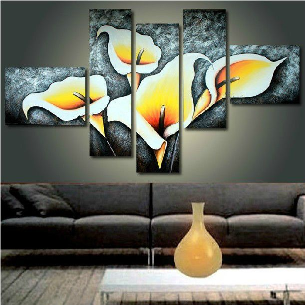 Hand-painted oil painting murals of modern living room mural bedroom decorative in Crafts, Other Crafts | eBay