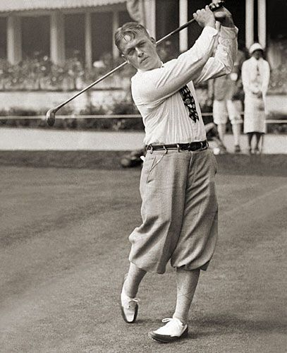 Bobby Jones Is One Of The Most Famous Golfers Of The 1920s #golfcoursephotography