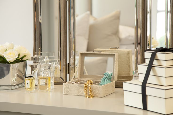 Dressing table accessories -Designed by JHR Interiors