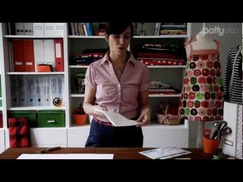T-Shirt mit Halsbündchen, Tasche und Flatlocknaht nähen - pattydoo tutorial #15 - YouTube