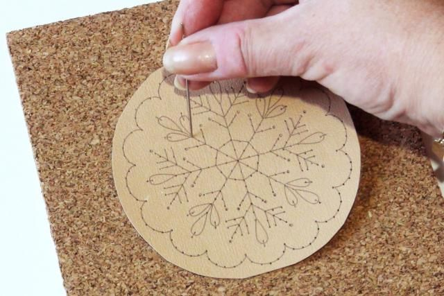 Learn How to Embroider on Paper: Pierce the Paper                                                                                                                                                                                 More