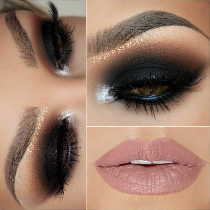 """Hi again here is the complete look , tutorial in previous post .Visão completa do tutorial anterior. Look completo del turorial anterior -Eye shadows…"""