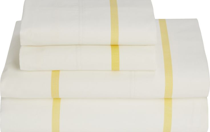 High Sierra Stripe 180 Thread Count Queen Sheet Set
