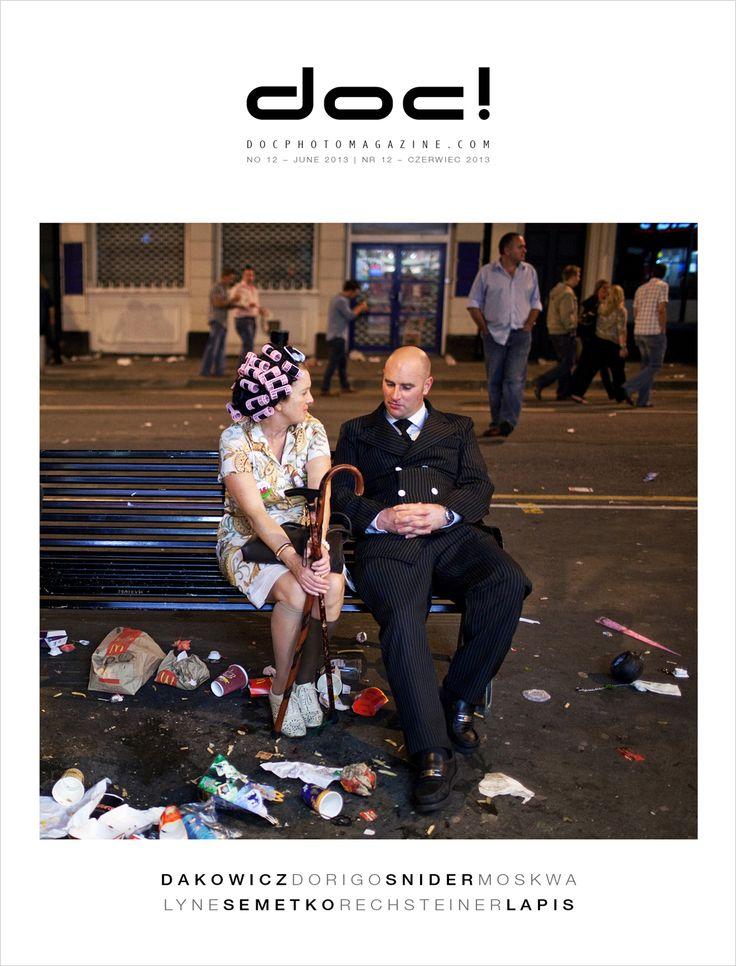 Cover of doc! photo magazine #12 Cover photo: Maciej Dakowicz