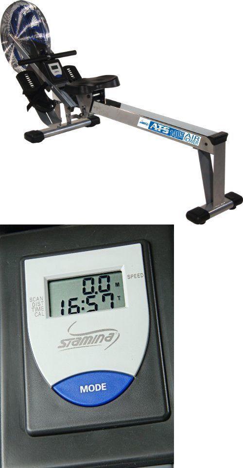 stamina ats air rowing machine sturdy rower 35 1405