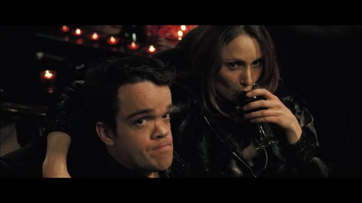 Jordan Prentice as Jimmy and Anna Madeley as Denise - In Bruges (2008)