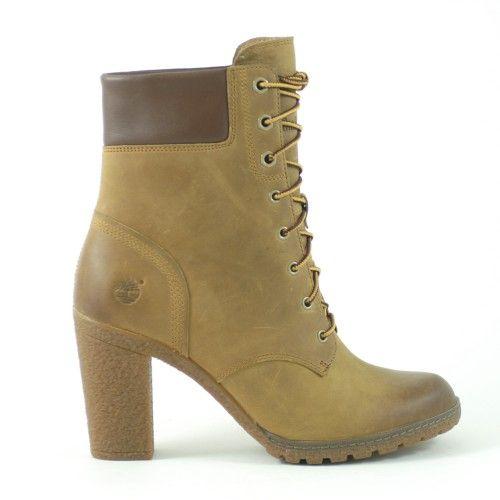 Timberland Ek Glancy Pelle Donna Grigio #shoes #scarpe #zeppa #inverno #moda #tacco