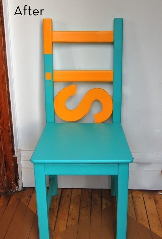 """SIT....a bit of paint, an """"S""""...SIT!"""