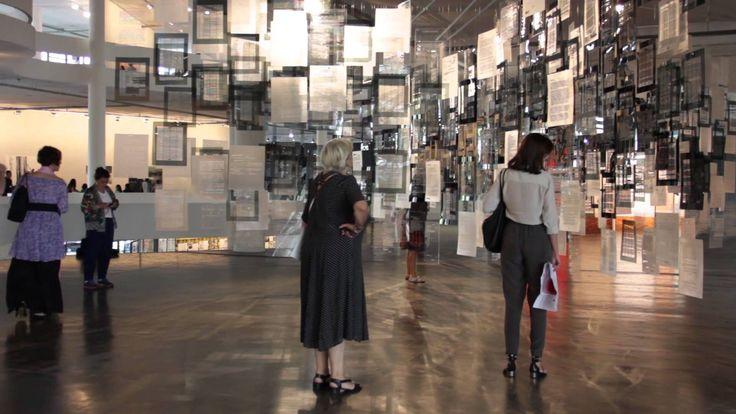 Visioner TV / Historias de Aprendizaje – Voluspa Jarpa @ 31ª Bienal de Sao Paulo, Brasil.