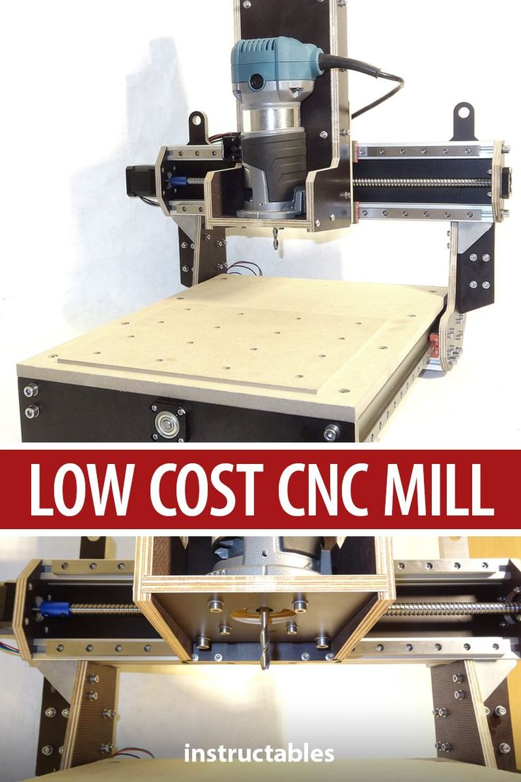 LOW COST DIY 500€ CNC MILL