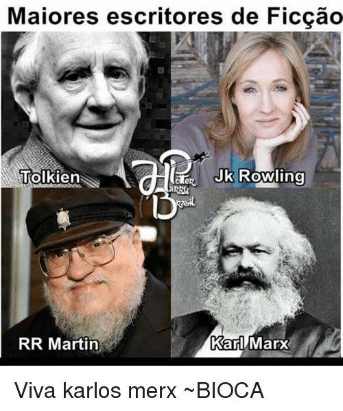 Resultado de imagem para jk rowling george rr martin meme
