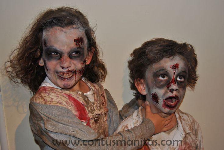 Disfraz zombie casero