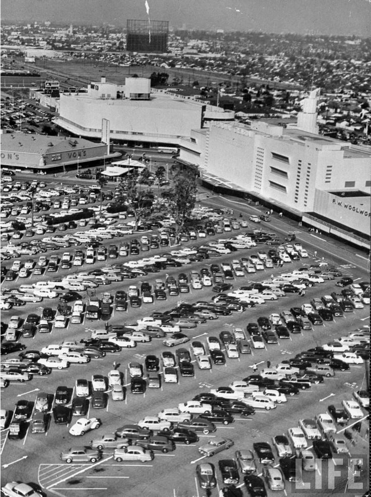 Time Capsule Los Angeles Development Boom of the 1950s