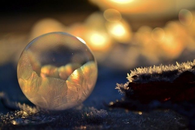 Frozen Bubbles Photography, by Angela Kelly