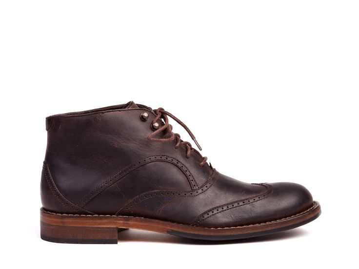 Wesley Wingtip Boot by Wolverine Boots for Brian